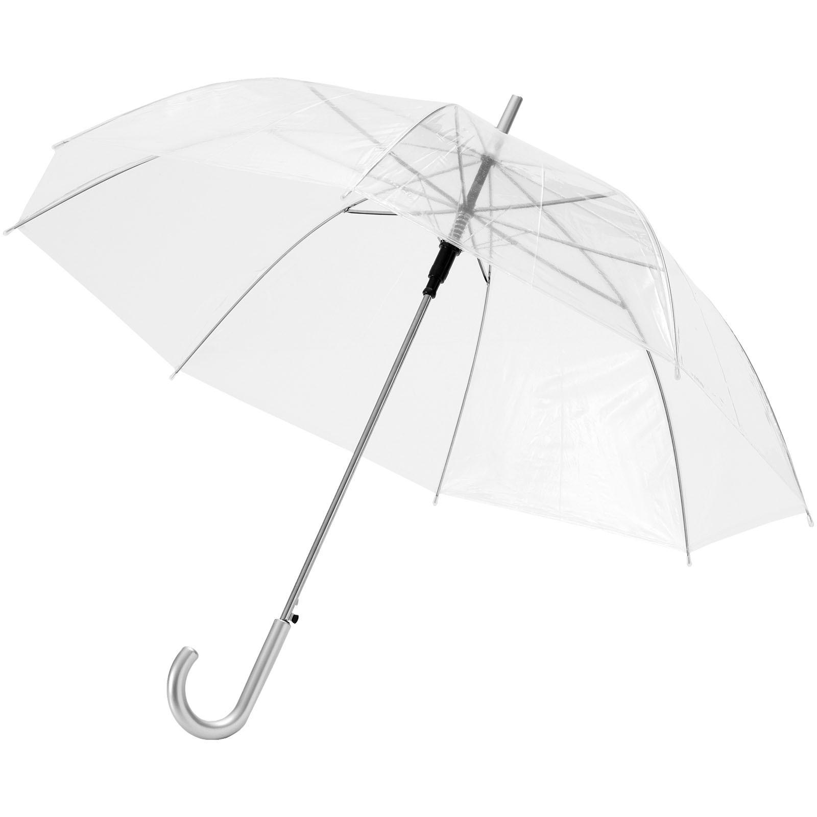 """23"""" průhledný deštník Kate s automatickým otvíráním"""