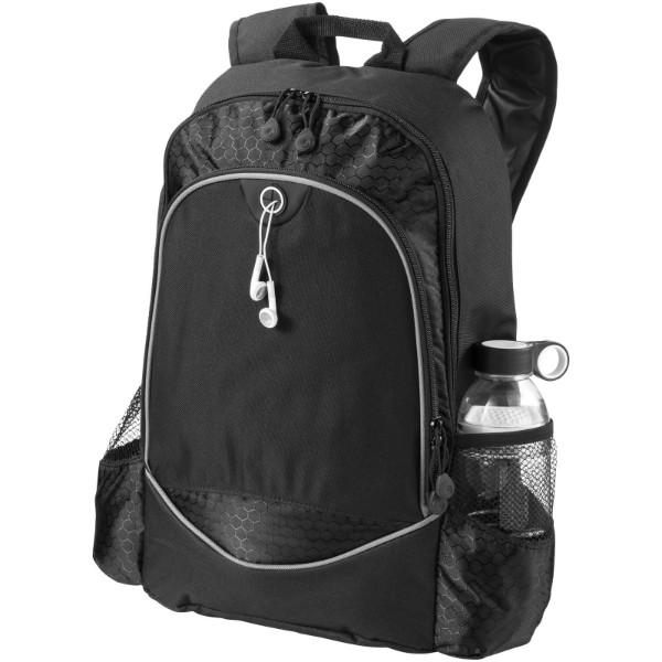 "Benton 15"" laptop backpack - Solid black"
