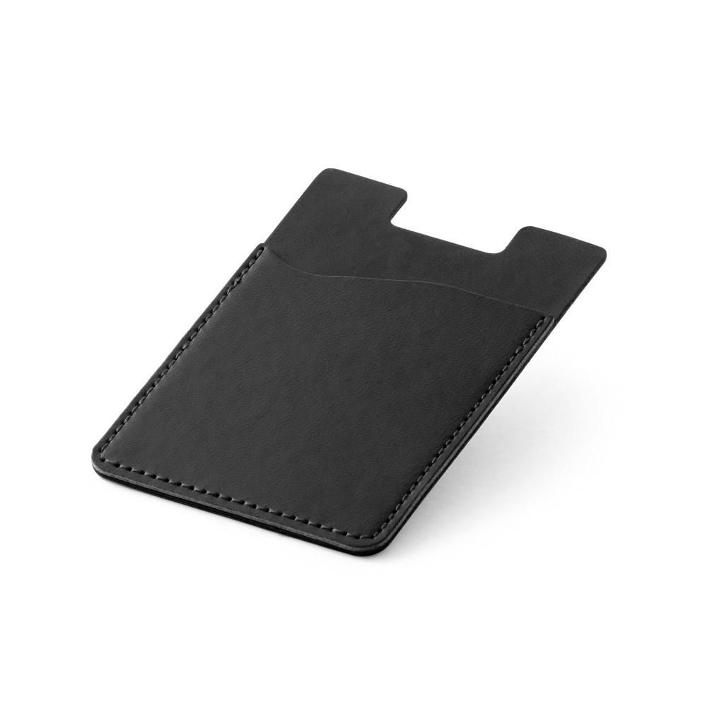 BLOCK. RFID blocking card holder for smartphone - Black
