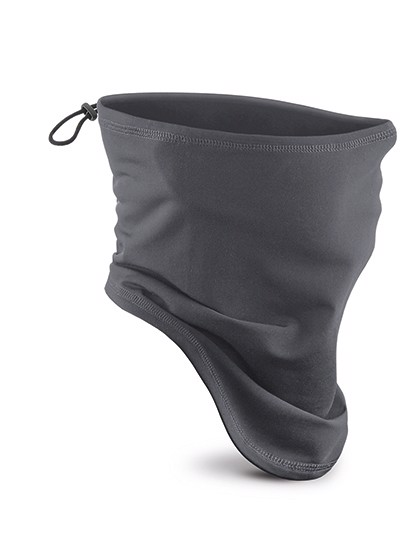 Softshell Sports Tech Neck Warmer - Graphite Grey / One Size