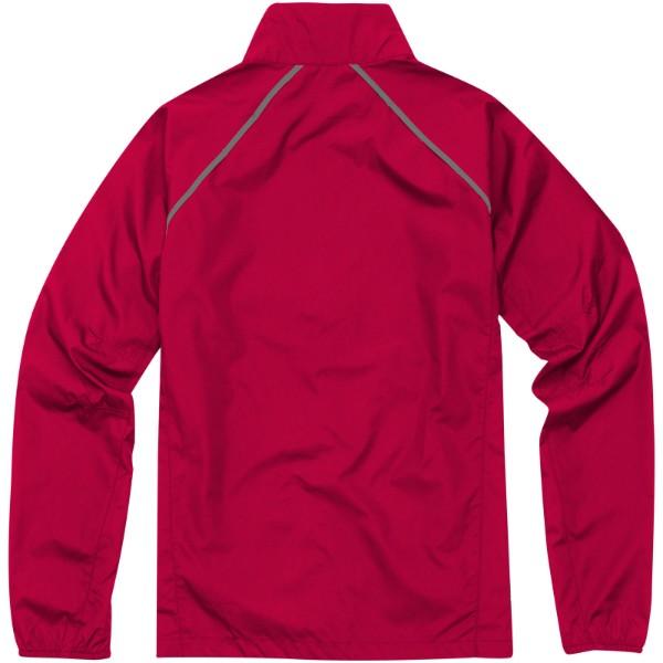 Sbalitelná bunda Egmont - Červená s efektem námrazy / XL