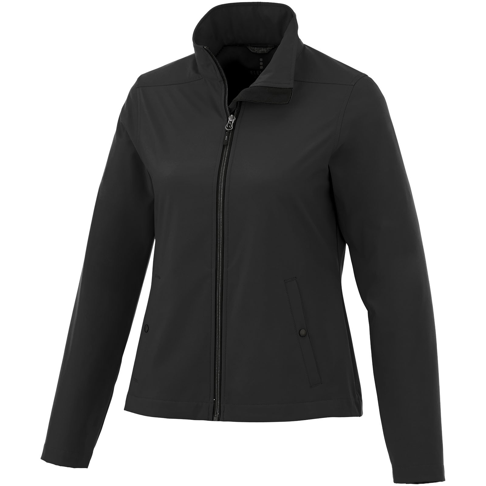 Karmine women's softshell jacket - Solid Black / XL