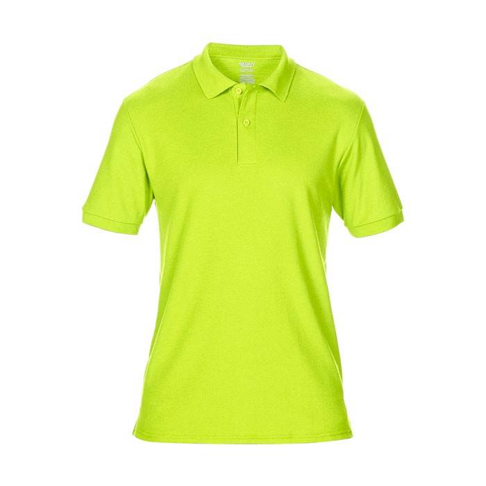 Men's Polo Shirt 207/220 g/m Dryblend Double Pique 75800 - Safety Green / S