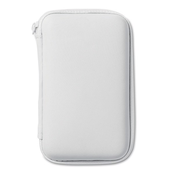 Powerbank travel set Superpouch - White