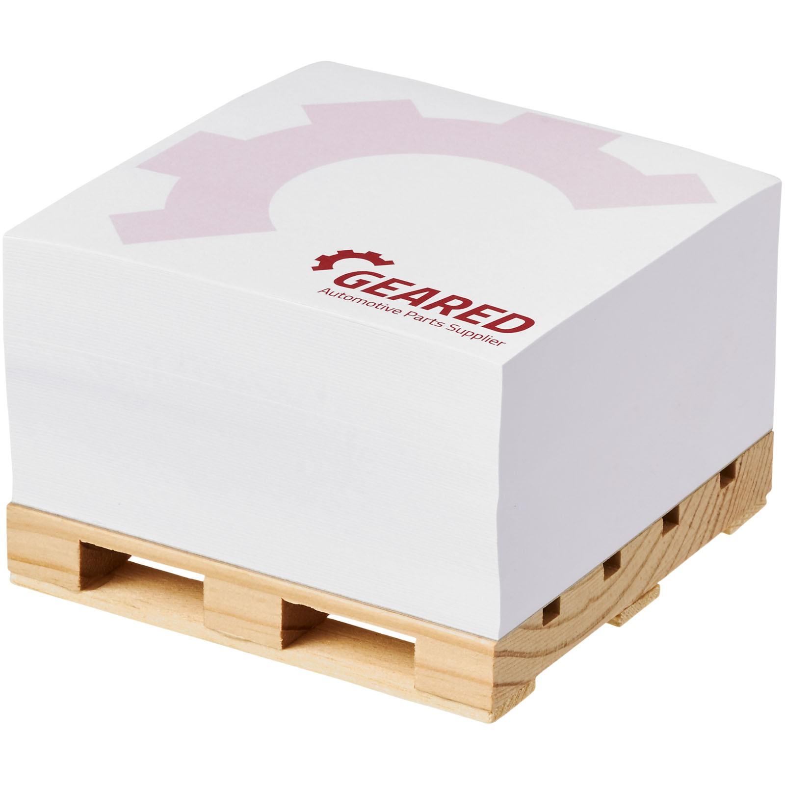 Poznámkový blok Block-Mate® Pallet 1C 100x100