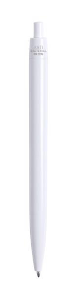 Anti-Bacterial Ballpoint Pen Licter - White