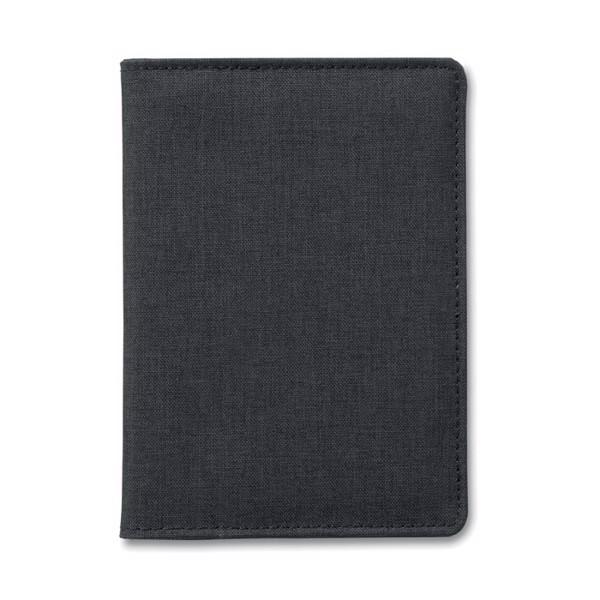 2 Tone passport holder Shieldoc