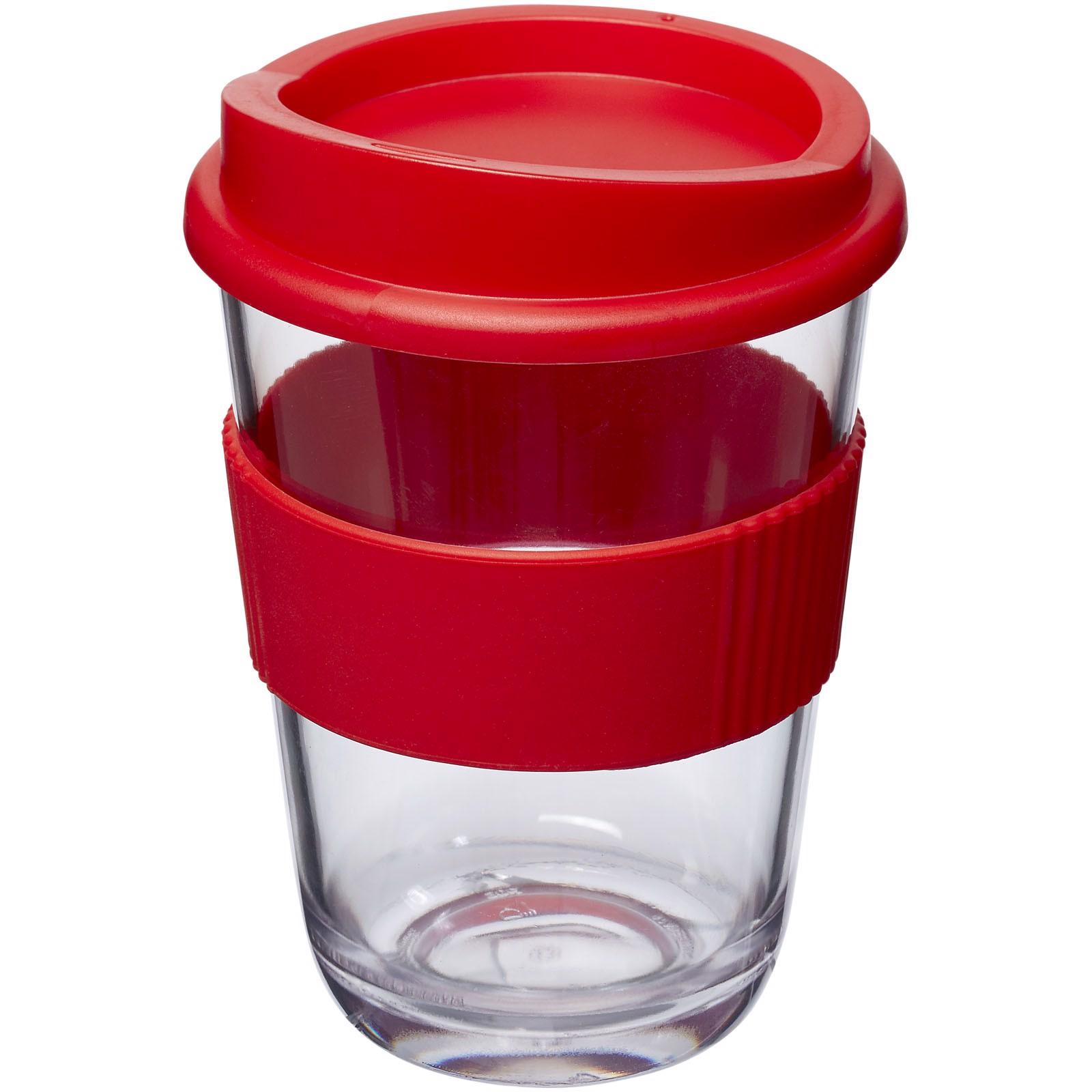 Americano® Cortado 300 ml kelímek s rukojetí - Červená s efektem námrazy