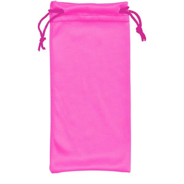 Clean sáček z mikrovláken na sluneční brýle - Neonově Růžová