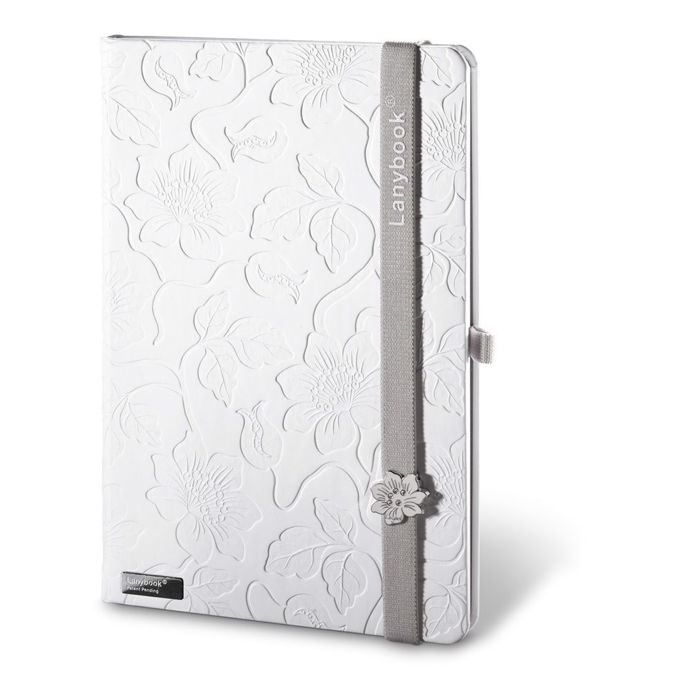 LANYBOOK INNOCENT PASSION WHITE. Notepad - Γκρί