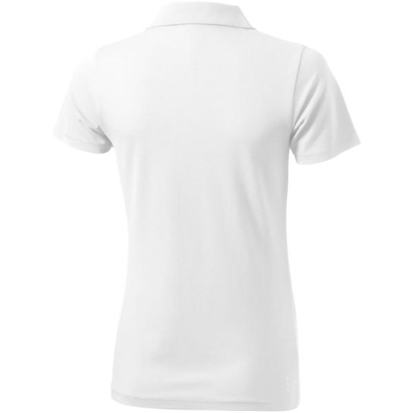 Seller short sleeve women's polo - White / XS
