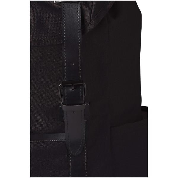 "Thomas 16"" laptop backpack - Solid black"
