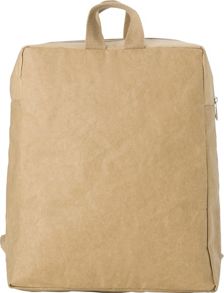 Laminated paper (310 gr/m²) backpack