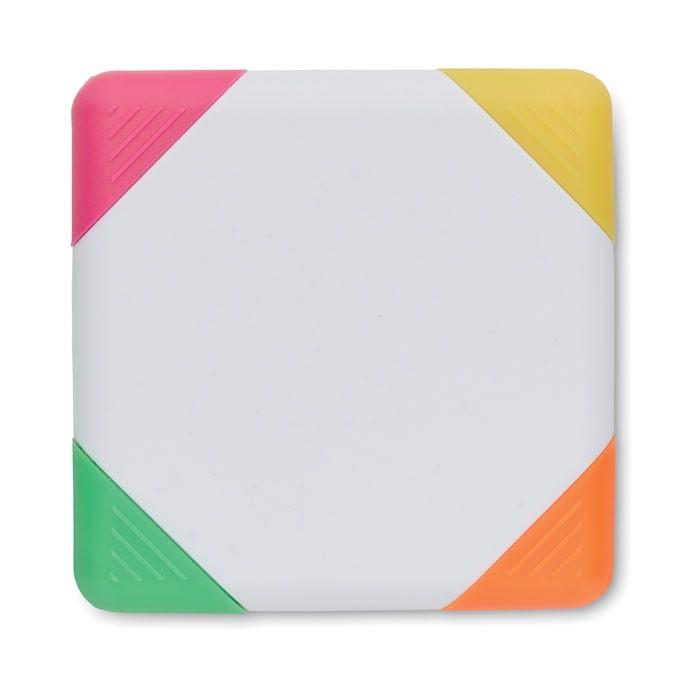 Komplet markerjev v kvadratni obliki Squarie