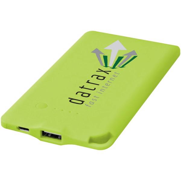 Powerbank WS119 4000mAh - Zelená / 4000mAh