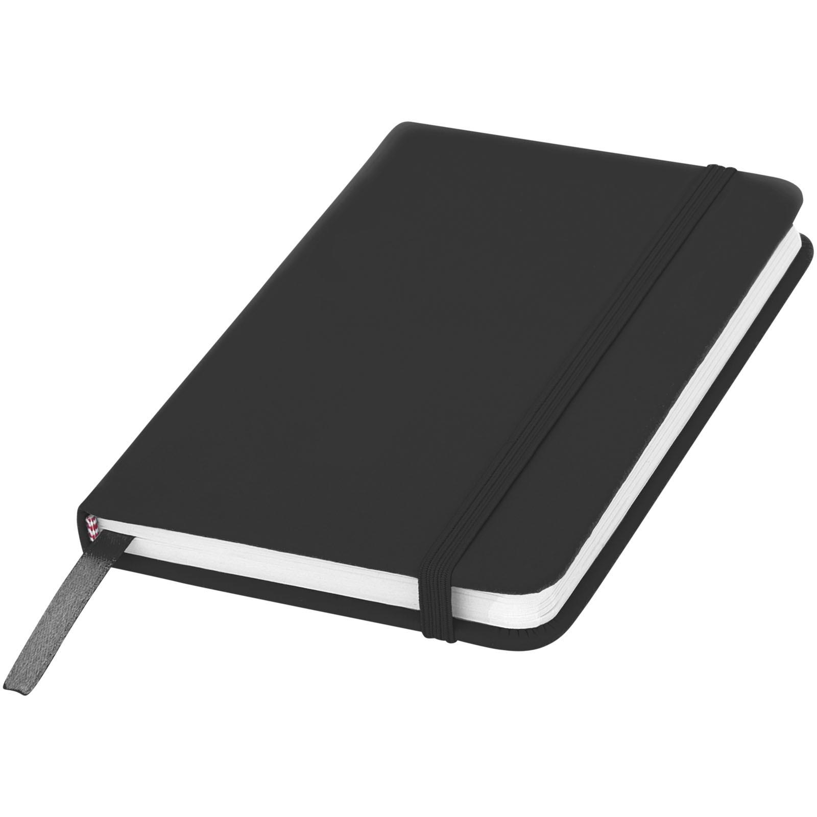 Zápisník s pevnou obálkou A6 Spectrum - Černá
