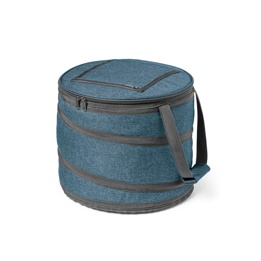 COAST. Foldable cooler bag 15 L - Blue
