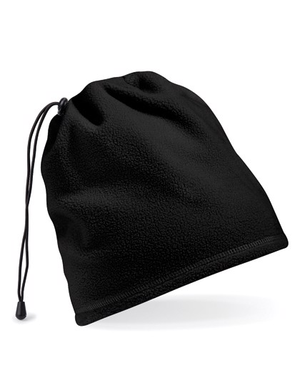 Suprafleece® Snood/ Hat Combo - Black / One Size