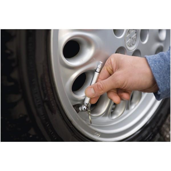 Tlakoměr pneumatik Camber - Stříbrný
