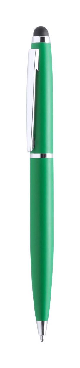 Dotykové Kuličkové Pero Walik - Zelená