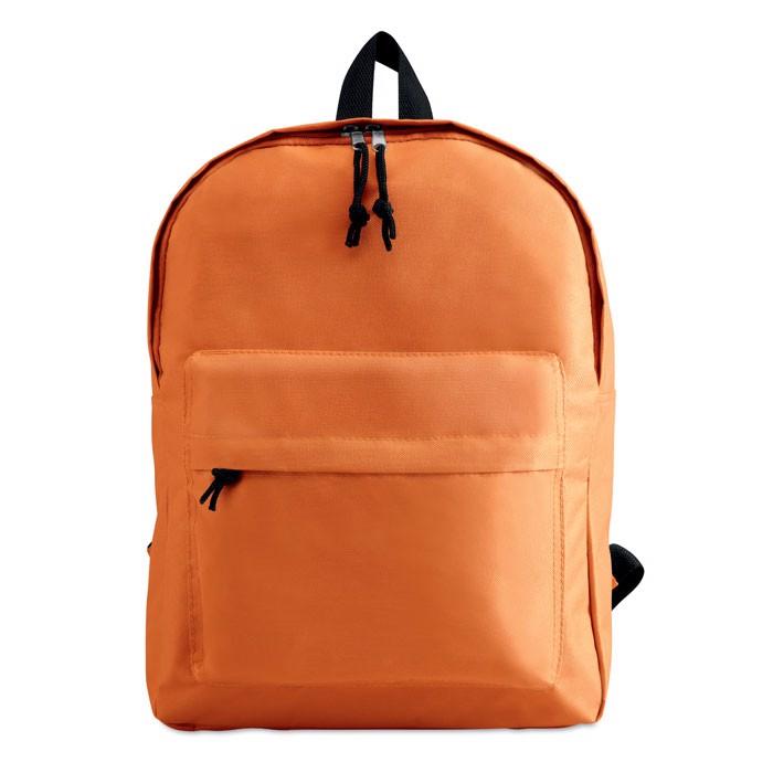 600D polyester backpack Bapal - Orange
