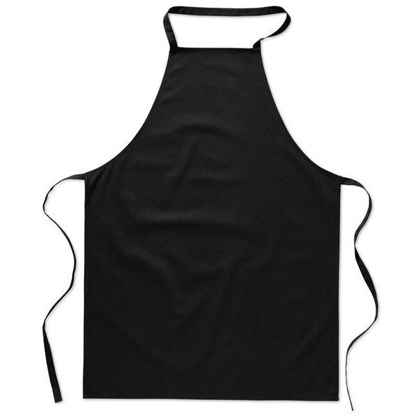 Kitchen apron in cotton Kitab - Black