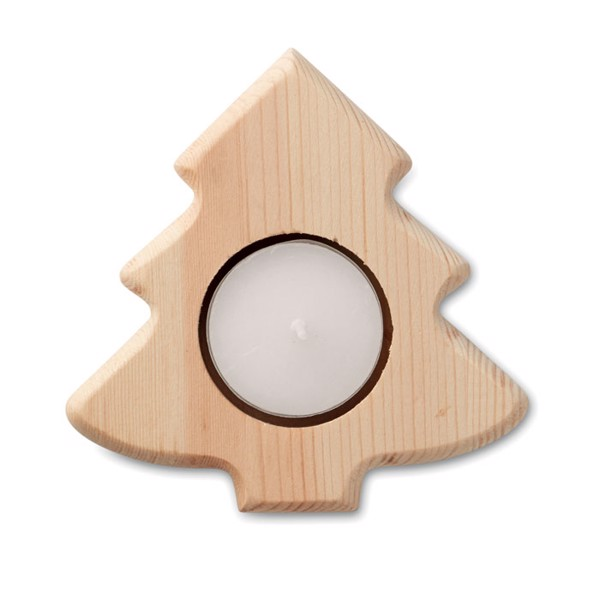 Tree shaped candle holder Teatree