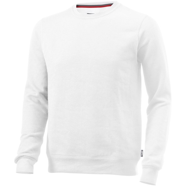 Toss crew neck sweater - White / 3XL