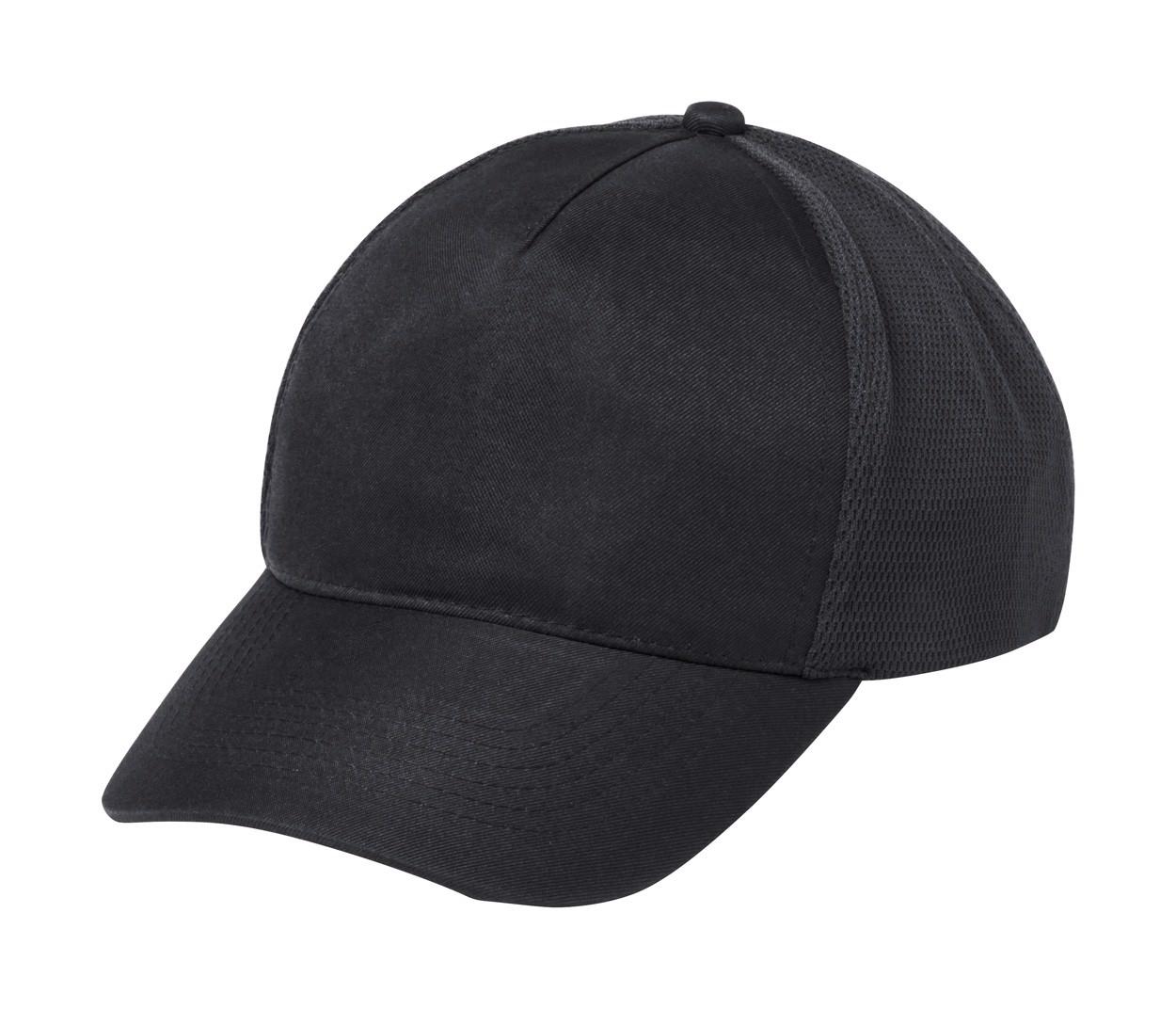 Baseballová Čepice Karif - Černá