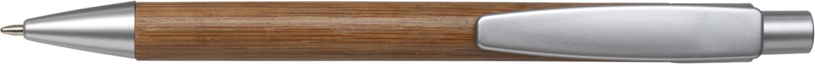 Bamboo ballpen - Silver