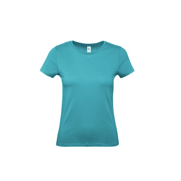 T-shirt female 145 g/m² #E150 /Women T-Shirt - Real Turquoise / XL