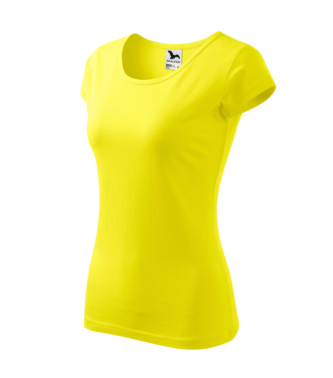 Tričko dámské Malfini Pure - Citronová / XL