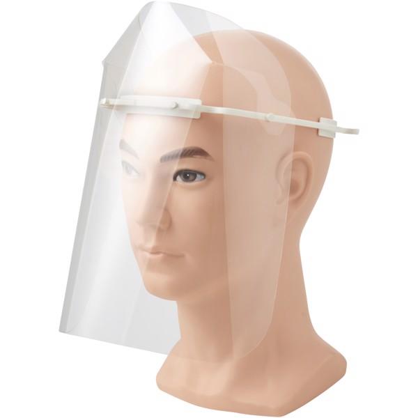 Ochranná obličejová clona - velká - Bílá
