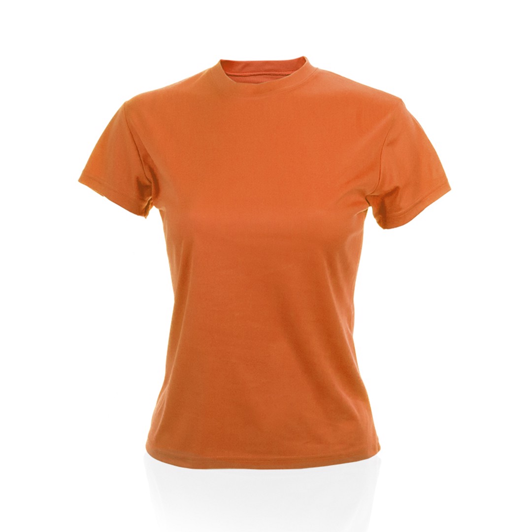 Camiseta Mujer Tecnic Plus - Naranja / M