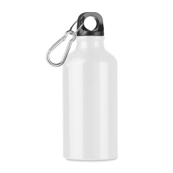 Butelka aluminiowa 400 ml Mid Moss - biały