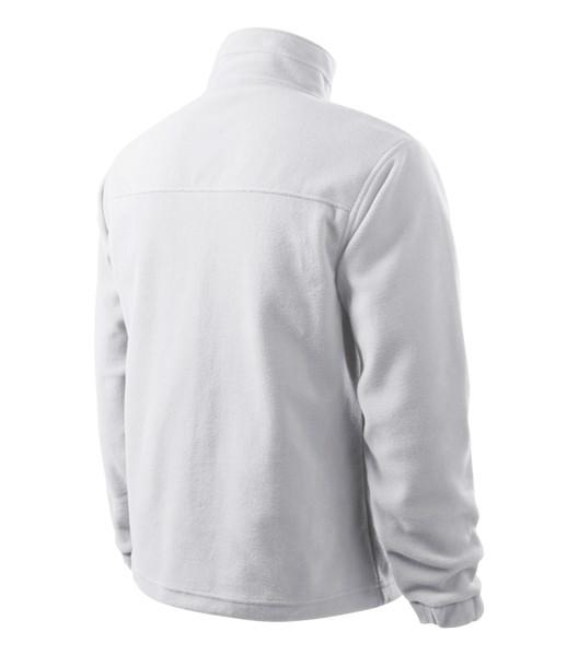Fleece pánský Rimeck Jacket - Bílá / S