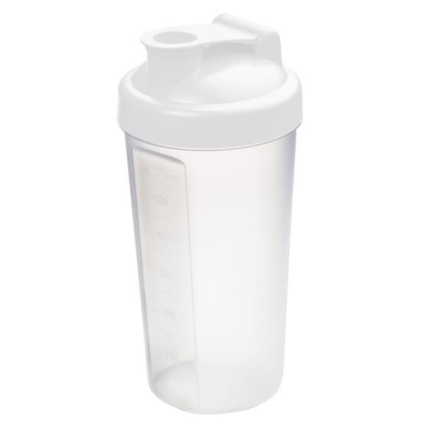 "Shaker ""Protein"" - White / Transparent"