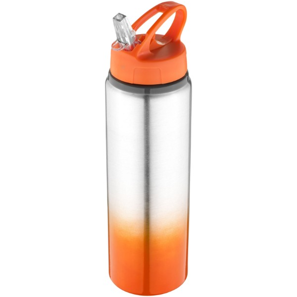 Gradient 740 ml Sportflasche - orange / silber