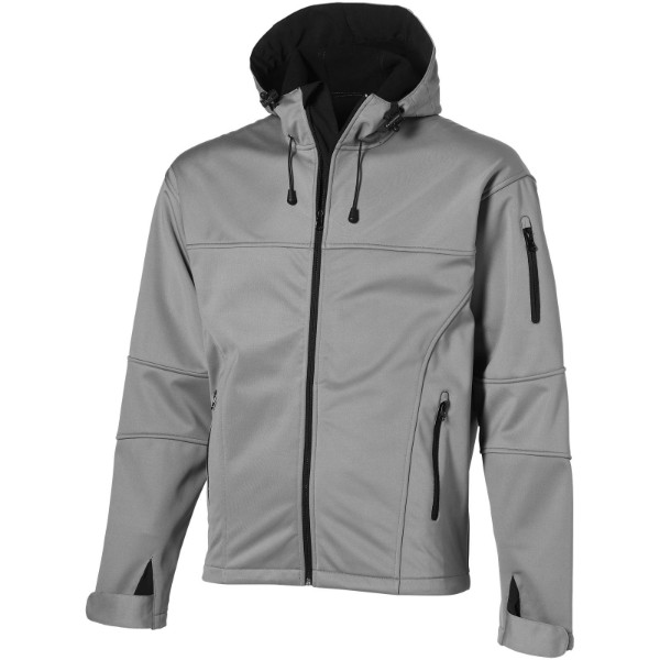 Match softshell jacket - Grey / XL