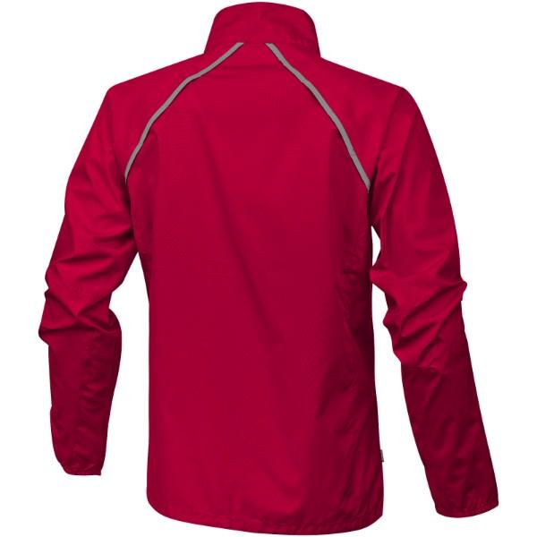 Dámská sbalitelná bunda Egmont - Červená s efektem námrazy / XS