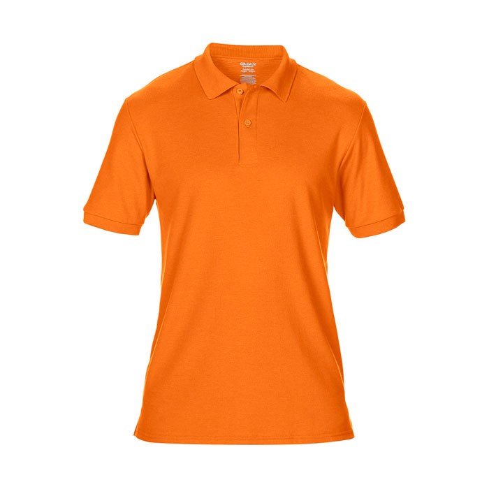 Men's Polo Shirt 207/220 g/m Dryblend Double Pique 75800 - Safety Orange / S