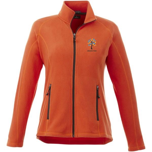 Rixford ladies Polyfleece full Zip - Orange / XS