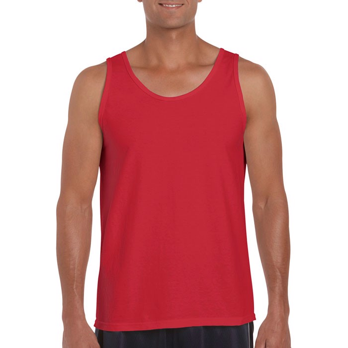 Tank Top 150 g/m² Softstyle Adult Tank Top - Red / XL