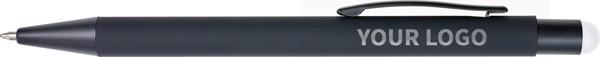 Kugelschreiber 'Formentera' aus Aluminium - White