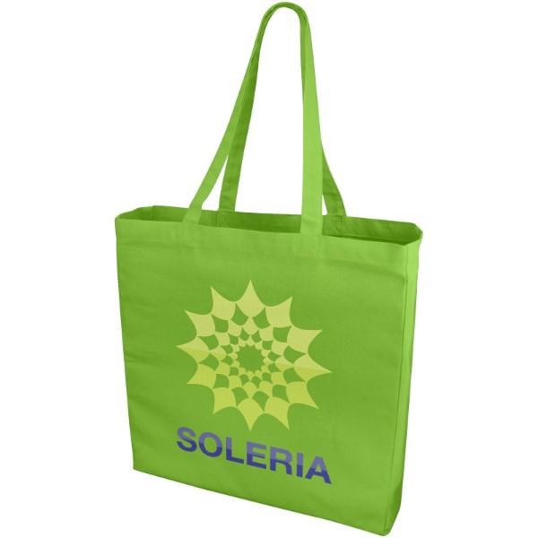 Odessa 220 g/m² cotton tote bag - Lime