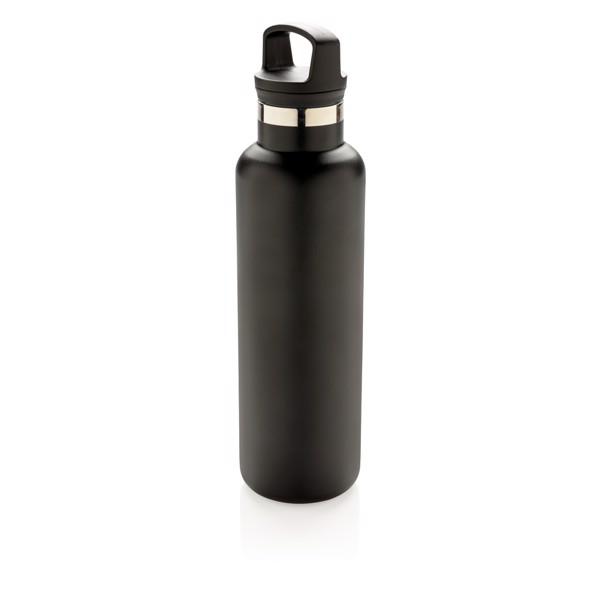Nepropustná termo láhev se standardním hrdlem - Černá
