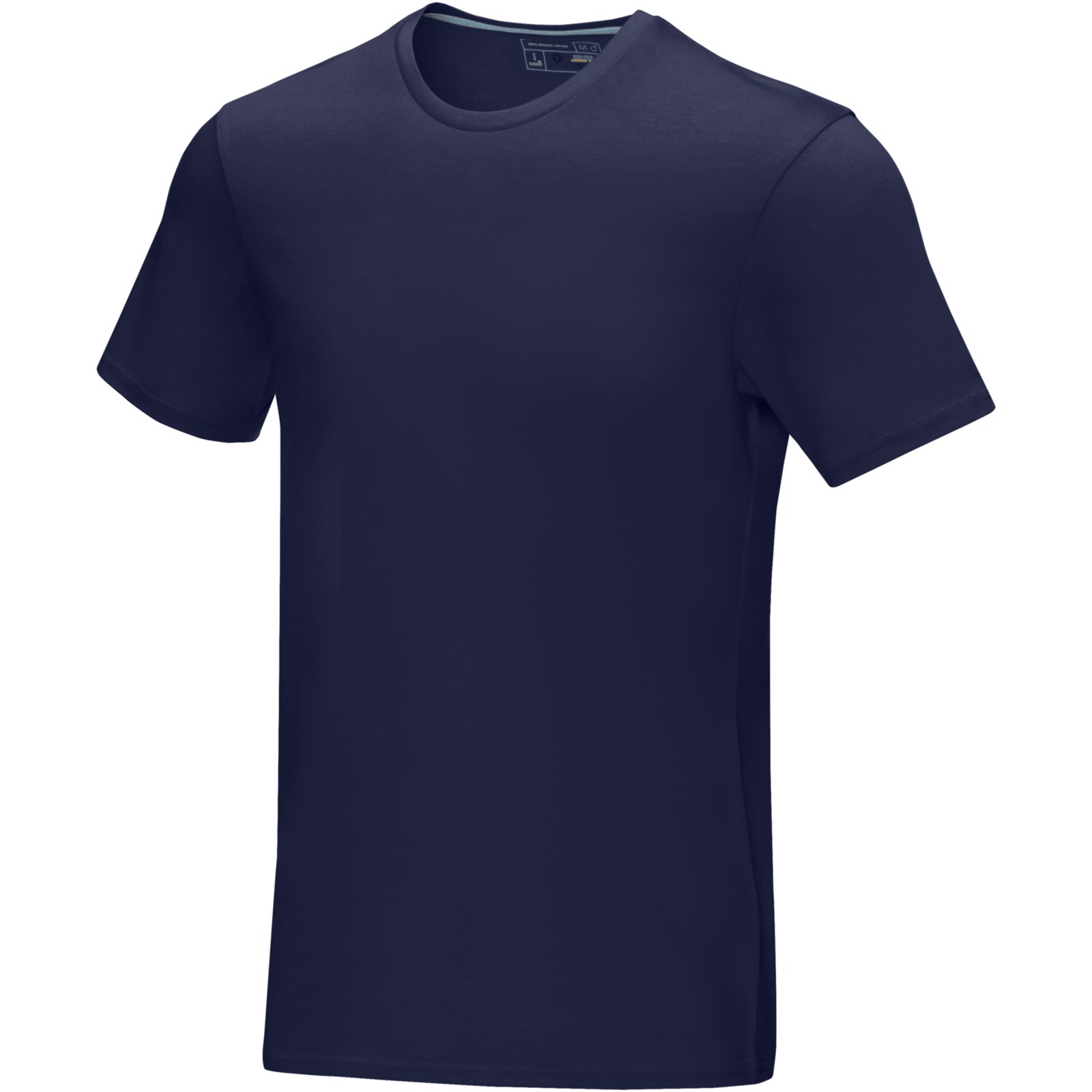 Azurite short sleeve men's GOTS organic t-shirt - Navy / L