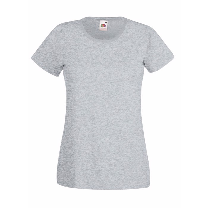 Lady-Fit T-Shirt 165 g/m² Lady-Fit Value Weight 61-372-0 - Grey Heather / L