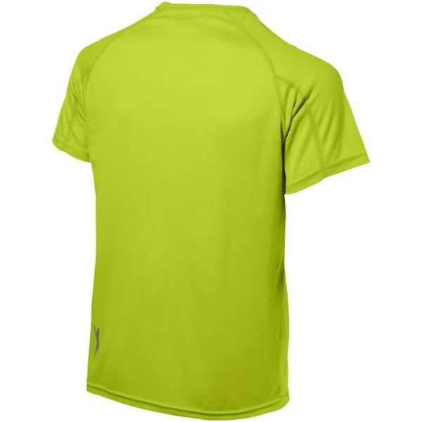 Pánské triko Serve s krátkým rukávem, s povrchovou úpravou - Apple Green / M