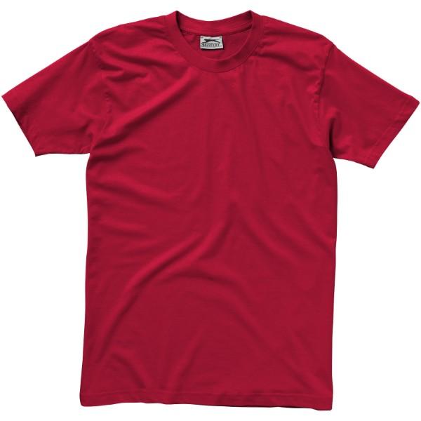Ace short sleeve men's t-shirt - Dark Red / S